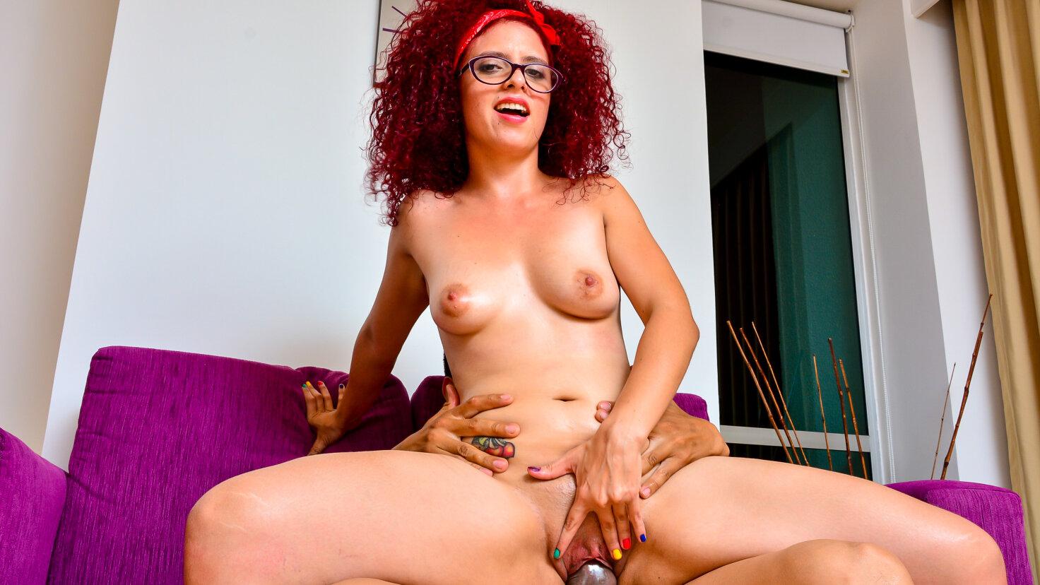 Wild Colombian babe eats cum in steamy hard revenge fuck - Tu Venganza