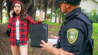 Betrayed Latina Gets Cop Cock - Latina Sex Tapes