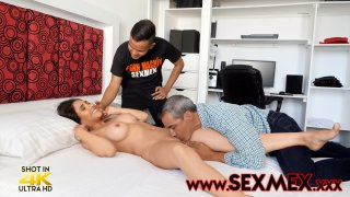 Son and Father Fuck father's Fiance - SEXMEX