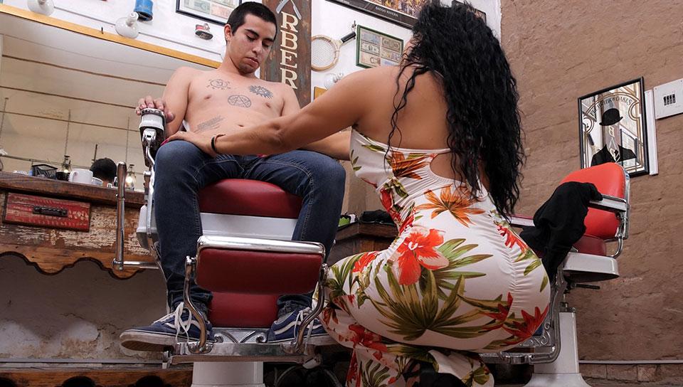 Hair Stylist Pt 2 . Gali Diva - SEXMEX