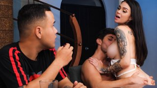 The hot auntie and her new libertine life . Sol Raven - SEXMEX