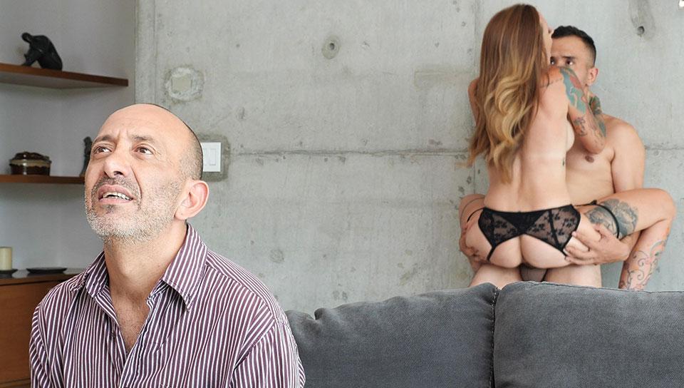Cheating on blind husband . La Pecosa - SEXMEX