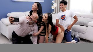 Immoral Family - Part 2 . Teresa Ferrer and Angie Miller - SEXMEX