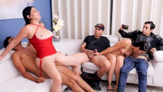 Immoral Family - Part 4 - Mommy pays the debt . Teresa Ferrer . Angie Miller - SEXMEX